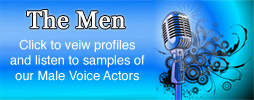 The Men - male voice over actors